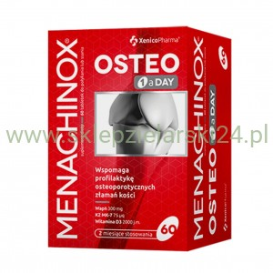 Menachinox Osteo 60 tabletek Xenico Pharma