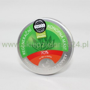 MAŚĆ KONOPNA 70% 100ML GREEN IDEA