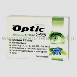 Optic bioluteina 25   30 tabletek Pharmacy