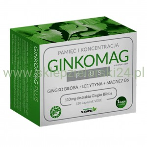 Ginkomag Plus 120 tabletek Xenico Pharma