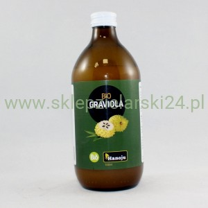 Graviola Bio - puree 500ml Hanoju